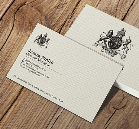 400gsm Textured Tweed Business Cards