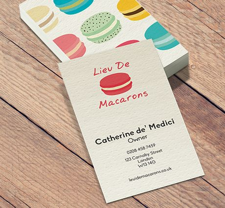 400gsm textured dot business cards reheart Choice Image