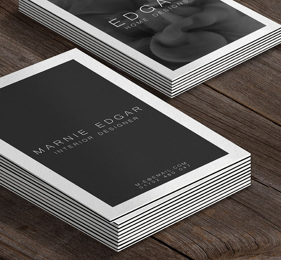 810gsm triple layer business cards reheart Image collections